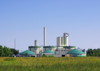 Biogasanlage - biogas plant 90
