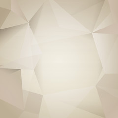 Polygonal design / Abstract geometrical background.