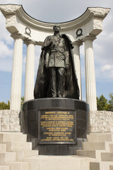The monument to Alexander II in Moscow