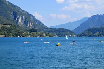 Lago di Ledro , italia