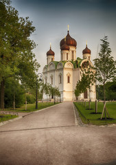 small russian church