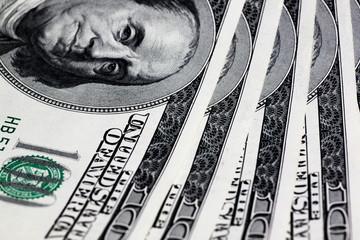 close up of dollars