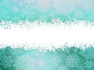 Winter background with snowflakes. EPS 10