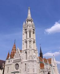 Matthiaskirche in Budapestz