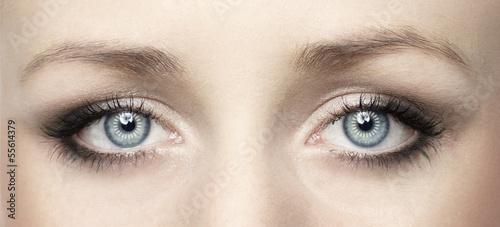 canvas print picture Ausdrucksvolle Augen