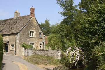 English country cottage. Wiltshire. England