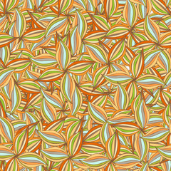 colored retro swirls seamless pattern 02