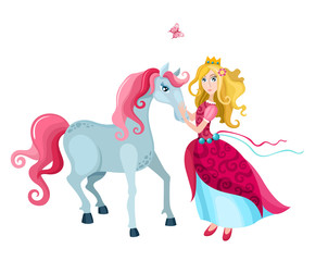 princess with a horse