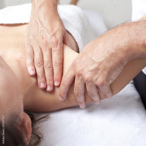 Schultermassage