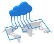 Das weltweite Datennetzwerk