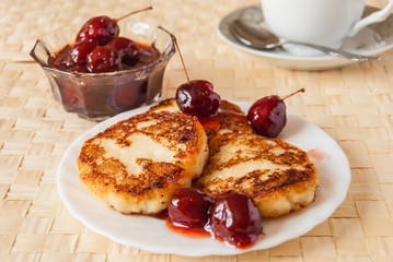 cottage cheese fritters