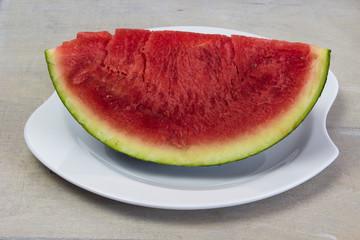 Eine Melone