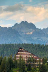 Resort area in National Park High Tatra