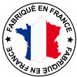 "Patch "" Fabriqué in France """