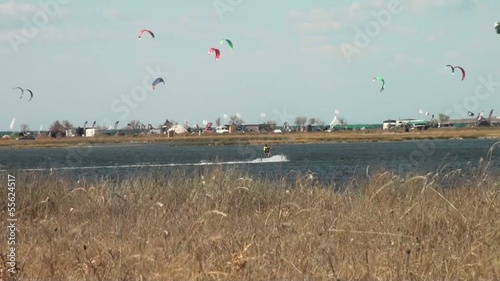 windsurfing kite