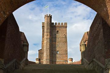 Helsingborg, the medieval tower