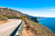 Highway through California Coast