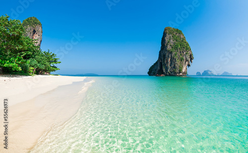 Railay beach in Krabi, Thailand