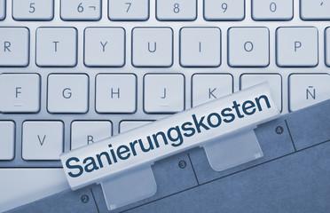 Sanierungskosten Tastatur