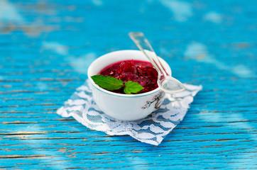 Mint Raspberry Jam