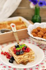 Tiramisu Style Dessert