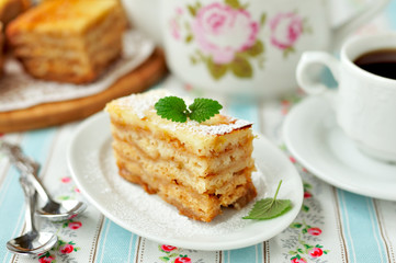 A Piece of Layered Apple Pie
