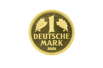 Goldmünze 1 D-Mark