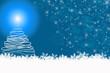 Weihnachtskarte ©yvonneweis