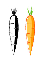 Carrot icons