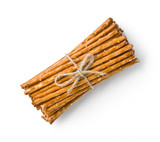 crispy straw breadsticks