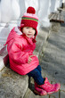 funny winter toddler