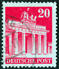Brandenburg Gate (Germany 1948)