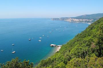 Barbaric coast, Adriatic sea, Italy.