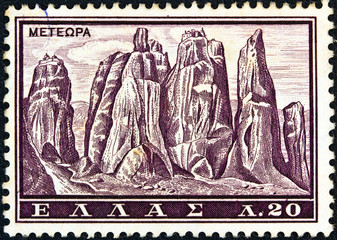 Meteora monasteries (Greece 1961)