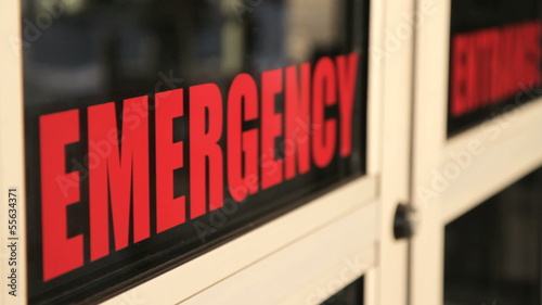 Emergency Doors Closing - Angle 2