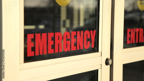 Emergency Doors closing - angle 1