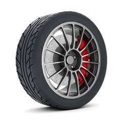 Black sport wheels