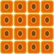 seamless peach pattern