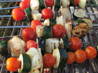 barbecues vegies