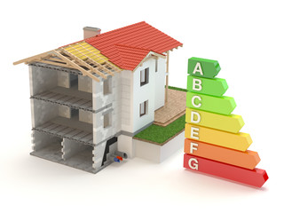 House 3D - energy efficiency