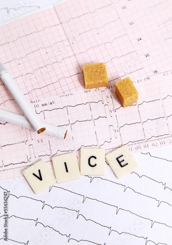 Vice and your heart health