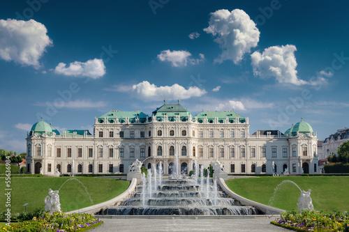Foto op Plexiglas Wenen Schloss Belvedere in Wien
