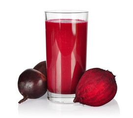 Smoothie with beet
