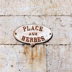 Place aux Herbes