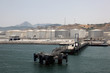 Fuel and oil storage at Tangier Mediterranean Port, Morocco