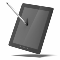tablet and stylus