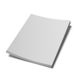 book with blank cover