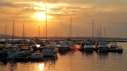 Sunset over Marina HD