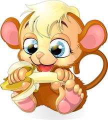 monkey cub
