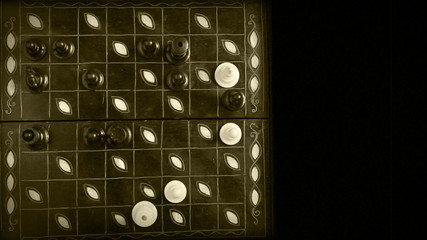 Chess Match Timelapse video